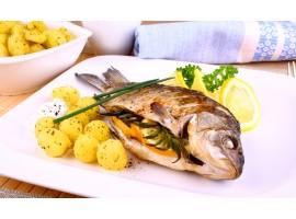 Рецепти риби у пароконвектоматі: лосось, минтай, карась, карп
