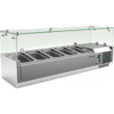 Холодильная витрина COOLEQ VRX 1200/330