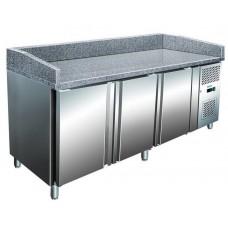 Стол для пиццы трёх дверный, гранитная поверхность BERG G-S3600TN