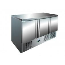 Холодильный стол трёх дверный BERG, мотор снизу G-S903 S/S TOP