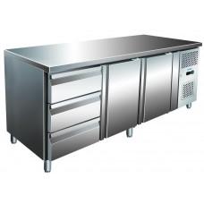 Холодильный стол 2 двери, 3 ящика BERG G-GN3230TN