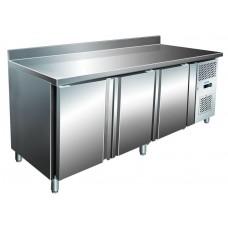 Холодильный стол трёх дверный с бортом BERG