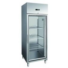 Холодильный шкаф GN650TNS  со стеклянными дверками BERG