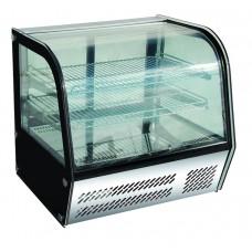 Витрина кондитерская гнутое стекло BERG G-HTR100