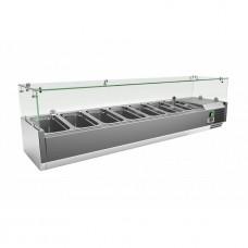 Холодильная витрина для топпинга Frosty VRX1600/380