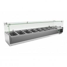 Холодильная витрина для топпинга Frosty VRX1800/380