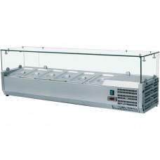 Холодильная витрина для топпинга Frosty VRX1400/380