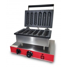 Аппарат КОРН-ДОГ для приготовления вафли на палочке CM6A (3+3)