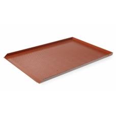 Противень для выпечки перфорированный с силиконовым покрытием 600x400 мм, Hendi 808221