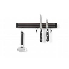 Планка магнитная с крючками 450 мм, Hendi 820308