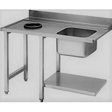Стол для посудомоечной машины с мойкой