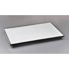 """Тарелка прямоугольная с черными краями 13,75"""" (35*25см)"""