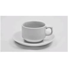 Чашка 1в1 с блюдцем (200мл)