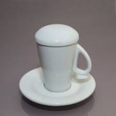 Чашка с крышкой с блюдцем (60мл)
