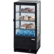 Витрина холодильная Stalgast 852171 78 л черная