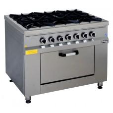Плита газовая Pimak МО15-6 с контроллером