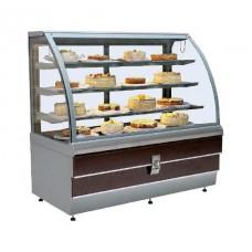 Холодильная витрина кондитерская ES System K LCC Carina-1,4