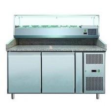 Стол для пиццы с витриной Cooleq PZ 2600 TN-VRX 1500/380