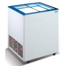 Морозильный ларь со стеклянной прямой крышкой Crystal ЭКТОР 16 SGL