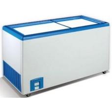 Морозильный ларь со стеклянной прямой крышкой Crystal ЭКТОР 46 SGL