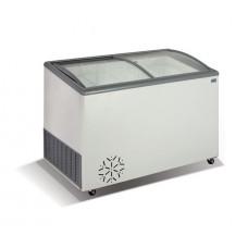 Морозильный ларь со стеклянной гнутой крышкой Crystal ВЕНУС 36 SGL