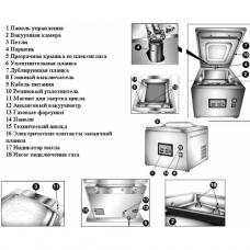 Вакуумный упаковщик Apach AVM 425