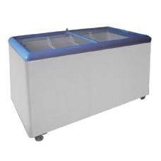Ларь морозильный с прямым стеклом Scan SD 351