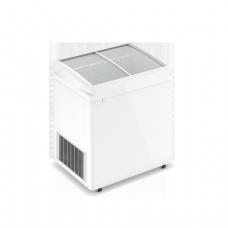 Морозильный ларь со стеклянной наклонной крышкой ELEGANCE F 700 E